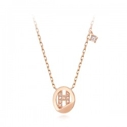 14k / 18k Noble H Integral Necklace