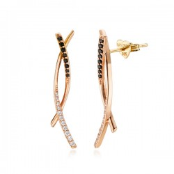 14k / 18k brownie earring