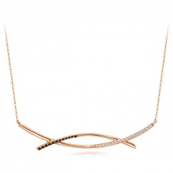 14k / 18k brunnia one piece necklace