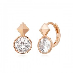 14k / 18k Rosatiecy earring