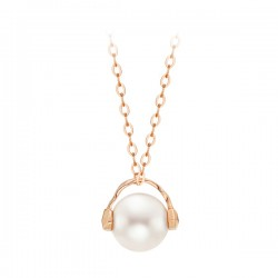 14k / 18k Music Pearl Necklace